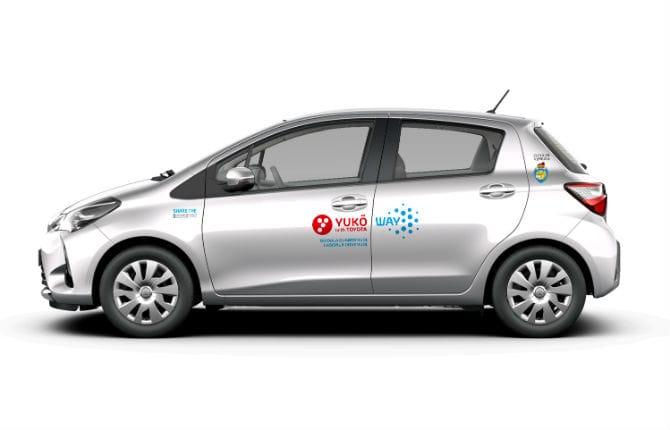 "A Venezia parte ""Yuko with Toyota"", il car-sharing Full Hybrid"