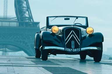Citroën Traction Avant, che storia