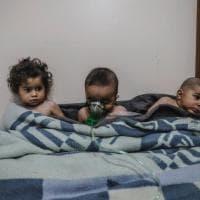 """""""L'impotenza dell'Onu contro l'inferno siriano"""": lo scatto vincitore del Premio Luchetta..."""