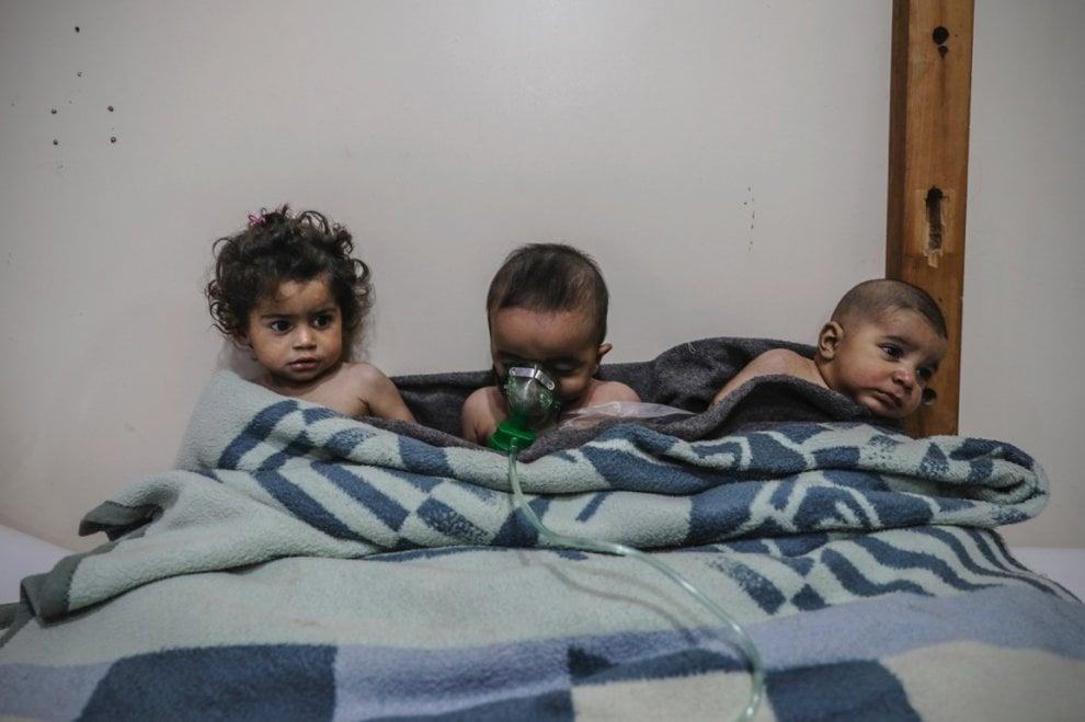 """""""L'impotenza dell'Onu contro l'inferno siriano"""": lo scatto vincitore del Premio Luchetta 2018"""
