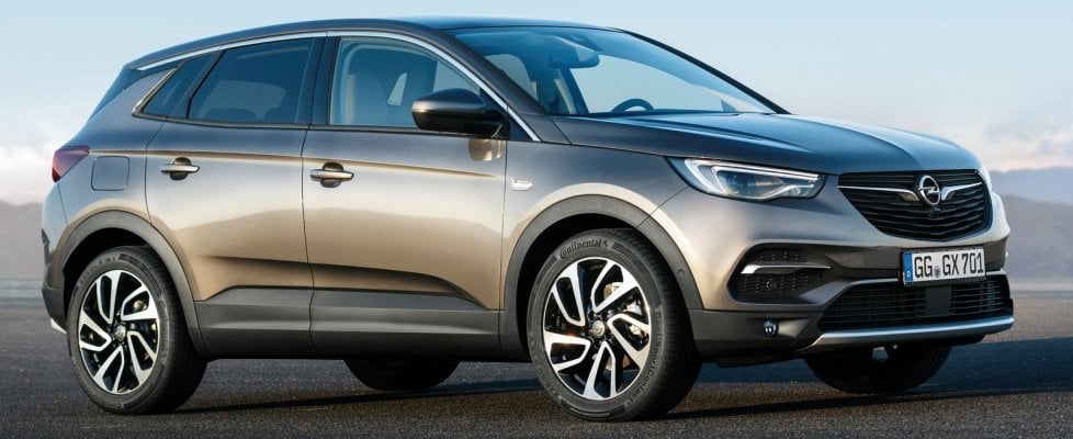 Opel Grandland X, parco giochi per famiglia