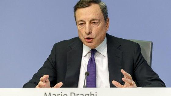 La BCE dimezza il Quantitative easing. Terminerà a dicembre