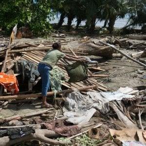 Oxfam, le foglie di Aida nel vento diell'uragano: «Irma mi ha portato via il poco che avevo»