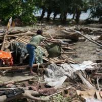 Oxfam, le foglie di Aida nel vento diell'uragano: «Irma mi ha portato via