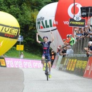 Giro d'Italia U23: Williams domina la settima tappa. Donovan nuova maglia rosa