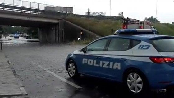 Maltempo, giornata di nubifragi in centro Italia. Ora la pioggia si sposta verso Sud