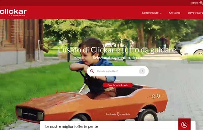 Leasys lancia Clickar.It, il portale dell'usato dedicato ai privati