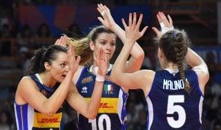 Volley donne, Nations League: l'Italia chiude battendo il Brasile