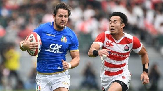 Rugby, l'Italia ci riprova in Giappone. Gavazzi: ''Deve essere la partita della svolta''