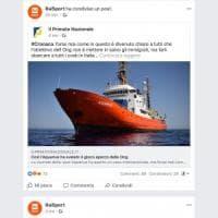 Migranti,  gaffe di Rai Sport su Facebook: condivide post di Casapound contro le ong