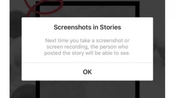 Instagram non ti avviserà se qualcuno fotografa le tue Stori