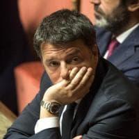 """Renzi: """"Il governo del cambiamento è nato da una cena privata a casa di un costruttore..."""