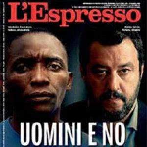 """Salvini critica la copertina dell'Espresso. Il direttore Damilano: """"Giudichino i lettori, il Ministro è esperto di insulti"""""""