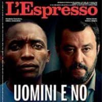 """Salvini critica la copertina dell'Espresso. Il direttore Damilano: """"Giudichino i lettori,..."""