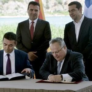 Nasce la Macedonia del nord, accordo sul nome tra Atene e Skopje