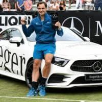 Tennis, Federer vince a Stoccarda: è il titolo numero 98