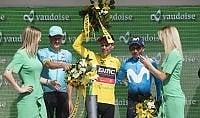 Giro della Svizzera a Porte  Kung vince la crono finale