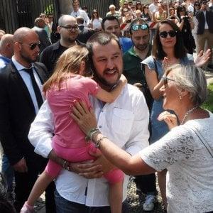 """Salvini in Lombardia: """"Ora vinciamo ai ballottaggi. E poi toccherà a Milano"""""""