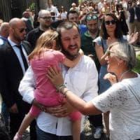 Salvini in Lombardia: