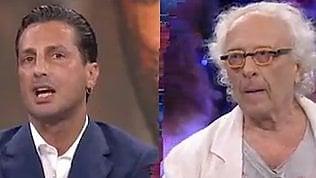 """Scontro Corona-Mughini in tv:""""Ti compro, ti metto in giardino"""""""