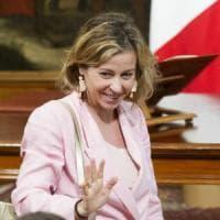 La ministra Grillo:
