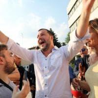 """Migranti, Salvini: """"Salveremo vite, nostre navi più vicine a Italia. Anche altri possono..."""
