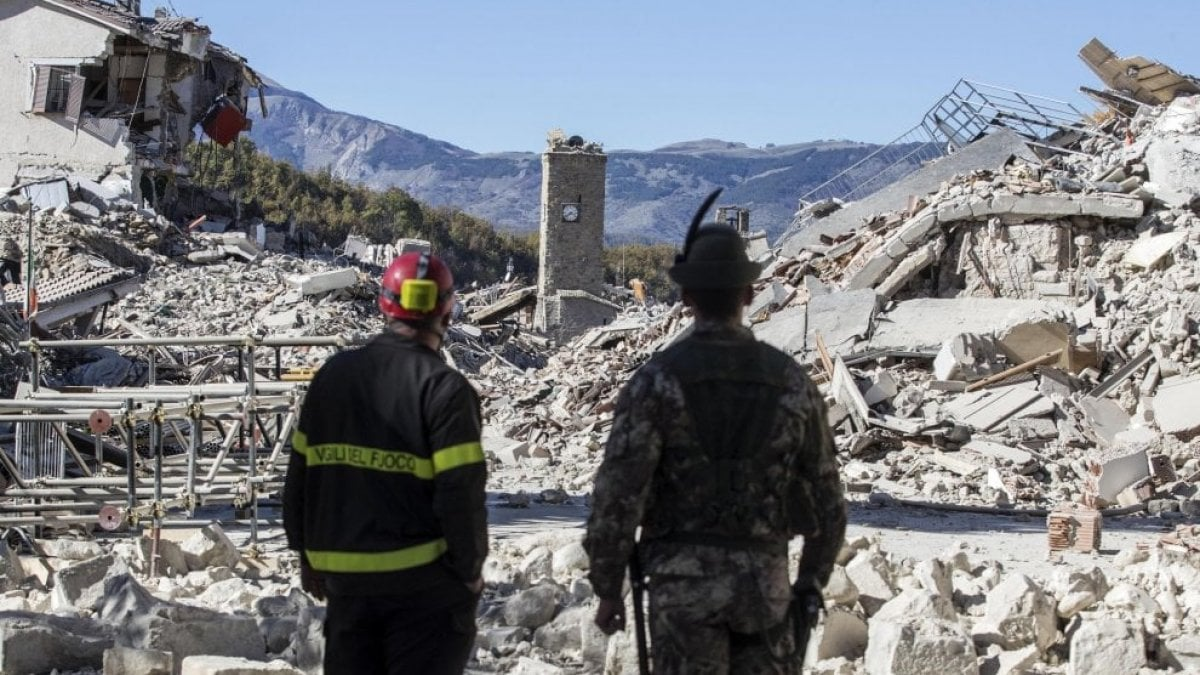 Dopo il terremoto del 24 agosto 2016avevano dichiarato che, vista