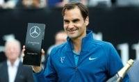 Federer si riprende lo scettro Halep salda sul trono