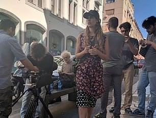 """Tea Falco debutta regista con la sua Sicilia """"senza mafia e piena di cannoli"""""""