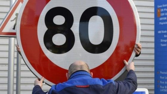 La Francia rallenta: limite a 80 all'ora sulle strade extraurbane