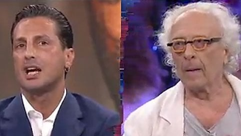 Scontro Corona-Mughini in tv: