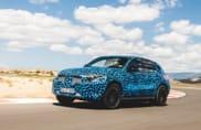 Mercedes EQC, i test continuano