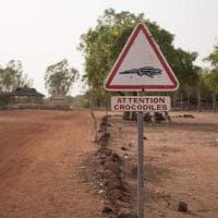 "Burkina Faso: i coccodrilli ""sacri"" di Bazoulé"