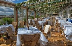 Un giardino pensile nel centro  di Londra: è il nuovo tempio della cucina italiana