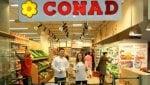 Conad, vendite in crescita nei primi quattro mesi: Vicino il sorpasso su Coop
