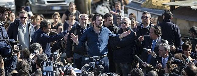 """Salvini: """"Sul censimento dei rom non mollo"""""""