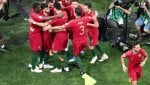 Compagno Ronaldo non festeggia gol