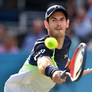Tennis, Murray: ritorno in campo con sconfitta. Federer ok ad Halle