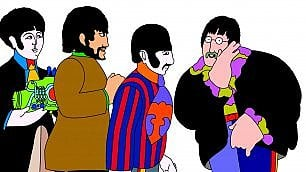 Nel sottomarino giallo insieme ai Beatles