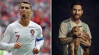 CR7 e il nuovo pizzetto: ecco perché è un affronto a Messi