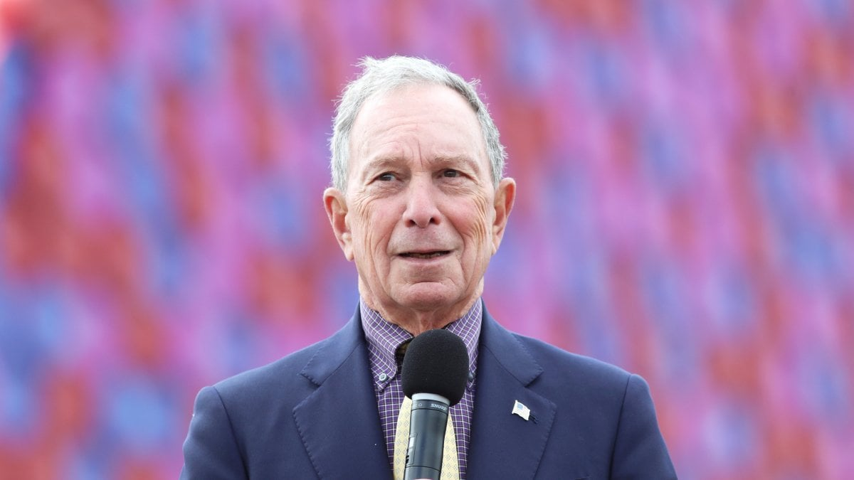 NEW YORK - Michael Bloomberg, il miliardario a capo di