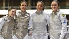 Europei, le ragazze del fioretto non tradiscono mai: Russia battuta in finale, oro all'Italia