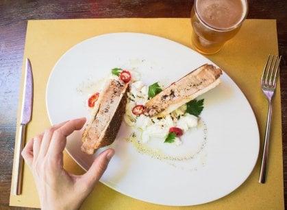Bologna: Pane e panelle si rinnova tra pesci ignoti e ricette coraggiose