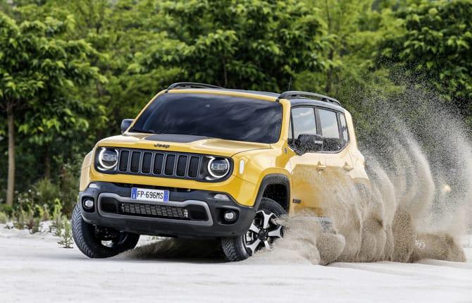 Nuova Renegade, Jeep all'attacco