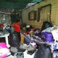 Roma, nuovo sgombero al Camping River: distrutte le case dei rom e la dignità