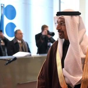 Khalid Al-Falih, ministro dell'Energia dell'Arabia Saudita al vertice Opec