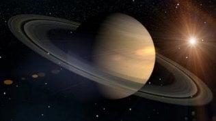 Saturno, il signore degli anelli:nel weekend il pianeta fa show