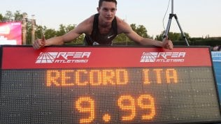 Atletica, Tortu nella leggenda: 9.99, primo italiano sotto i 10'' nei 100. Battuto il record Mennea