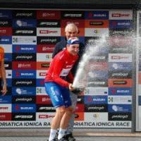 Ciclismo: Adriatica - Ionica: tris Viviani a Grado. Sosa ancora in maglia azzurra