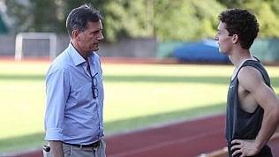 """Tortu, felicità del padre coach:""""Filippo nato per correre"""" video"""